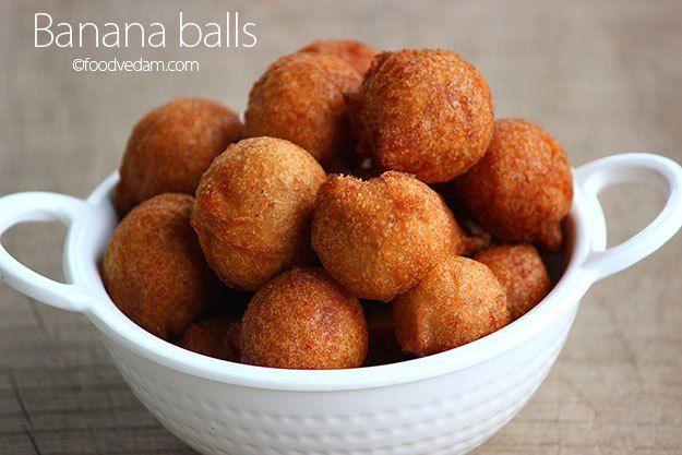 banana balls