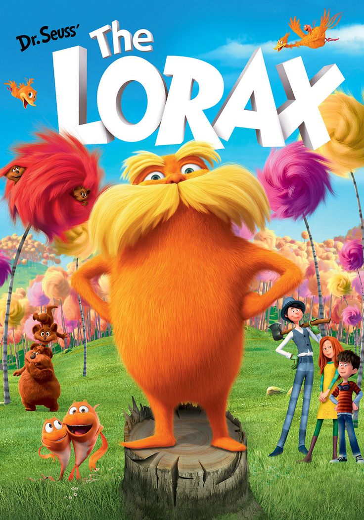 The Lorax (2012) | Meet the original force of nature