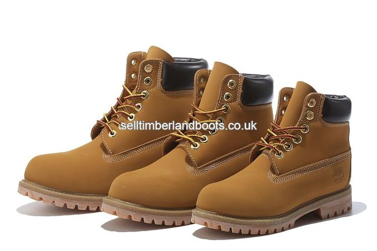 2017 New Women's Timberland 6 Inch Boots Wheat Black Outlet UK £72.00