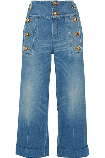Ditch The Skinny Jeans: 10 Ways To Dorkify Your Denim #refinery29  http://www.refinery29.com/dorky-jeans#slide-9  Button up! The higher the waist, the better.