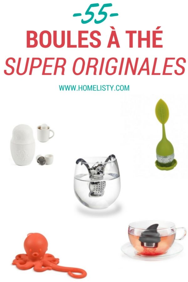 55+ Boules à thé super originales !  http://www.homelisty.com/boule-a-the-originale/