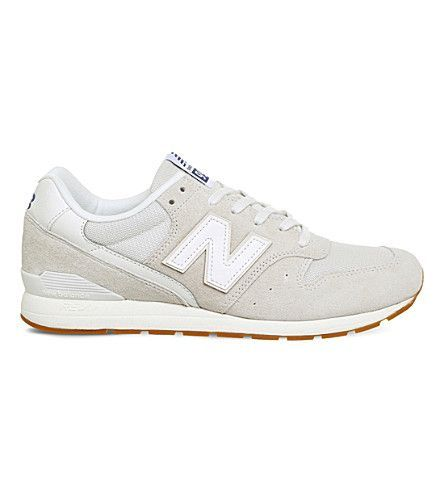 NEW BALANCE MRL996 suede and leather sneakers. #newbalance #shoes #