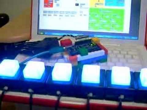 6-LED - Max/MSP to arduino