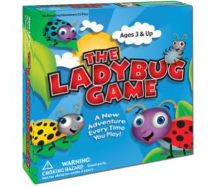 The Ladybug Game - Help Ella Yellow, Rickie Red, Tommy Teal and Olivia Orange - four ladybugs - get back home to their rosebush.