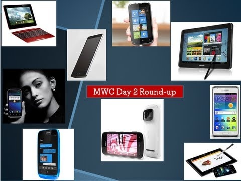 Day 2 at MWC 2012. More smartphone including the Nokia 808 with 41MP camera