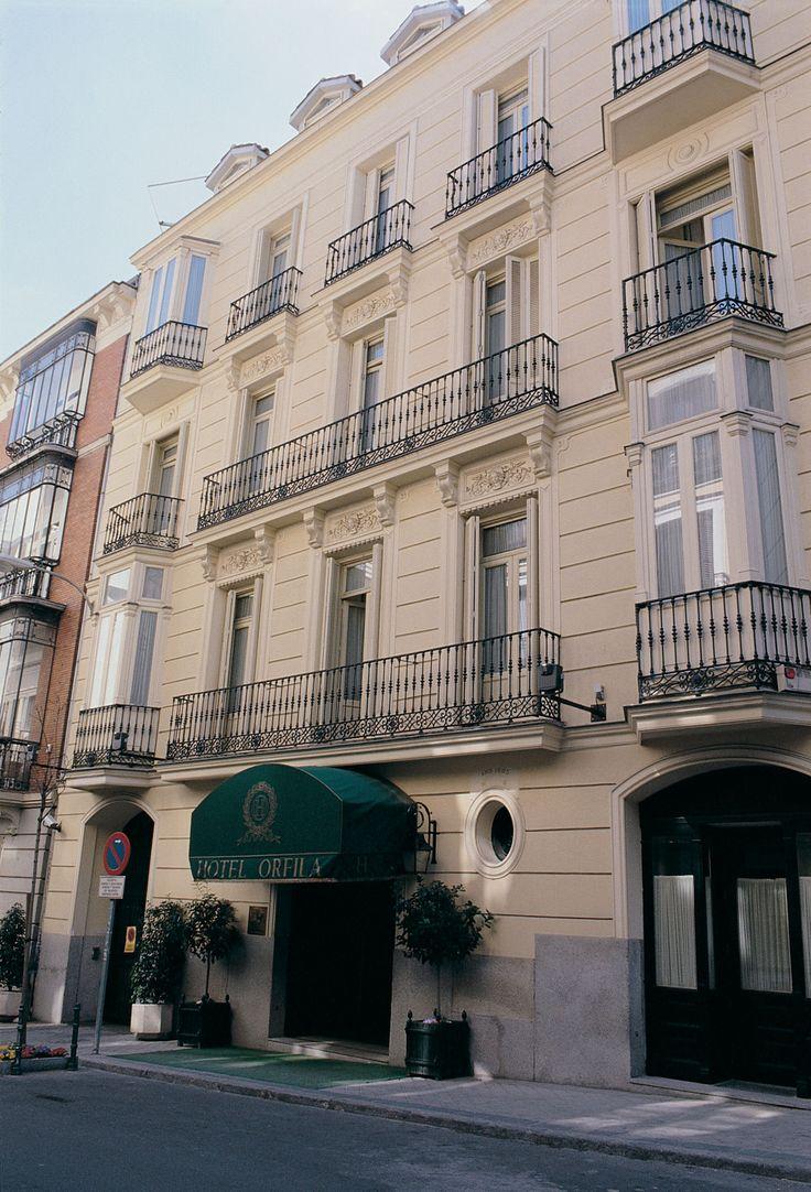 Orfila Hotel Facade in Madrid