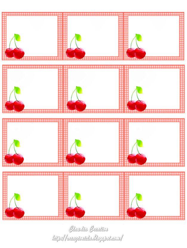 Extrêmement Oltre 25 idee originali per Etichette barattoli su Pinterest  TE62