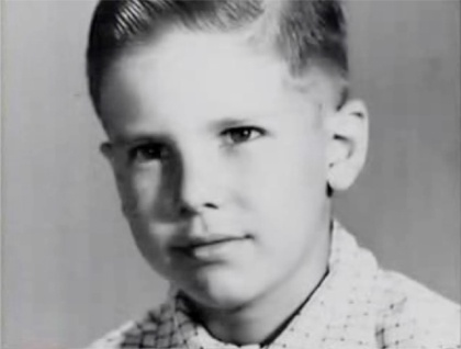 Harrison Ford childhood picture