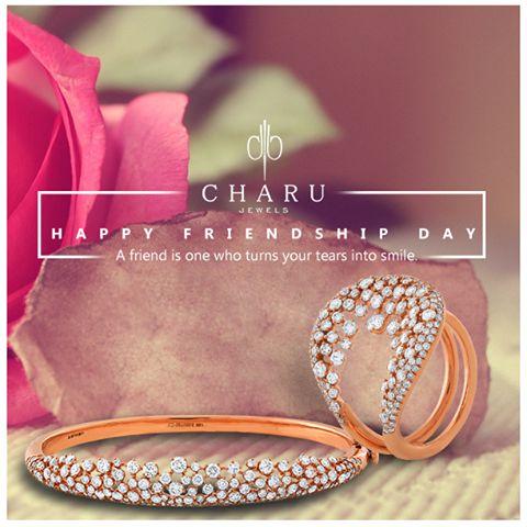 Happy Friendship's Day. #Friendshipsday #Friends #August #Jewels #Jewelry #JewelryJunkie #Precious #Glam