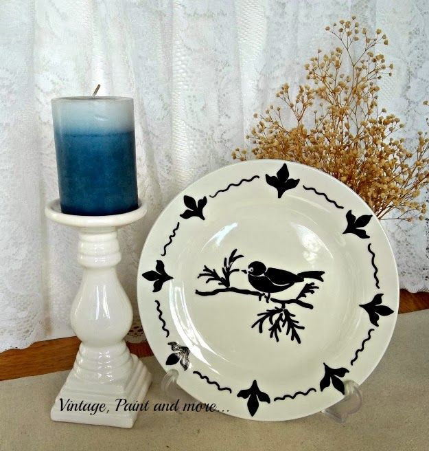 How to Stencil a Plate