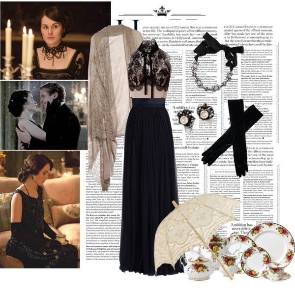 """""""Downton Abbey"""" by gothicity on Polyvore"""