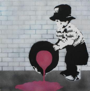 Original work on canvas by CAMO Artist: Street Artist, Camo Artwork title: unititled