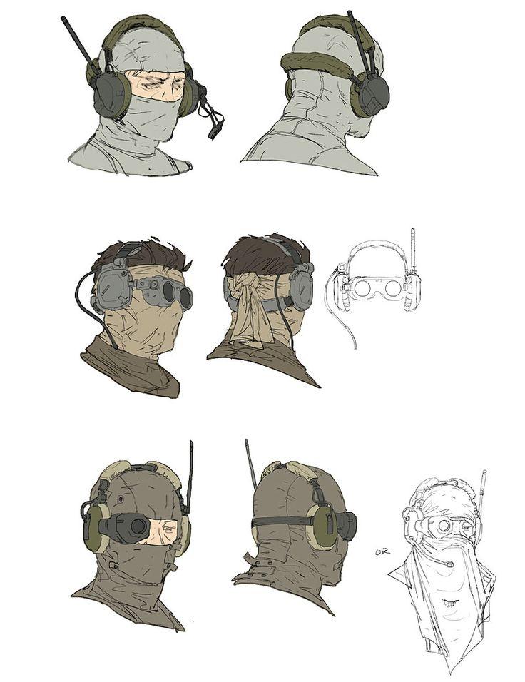 Metal Gear Online Concept Art