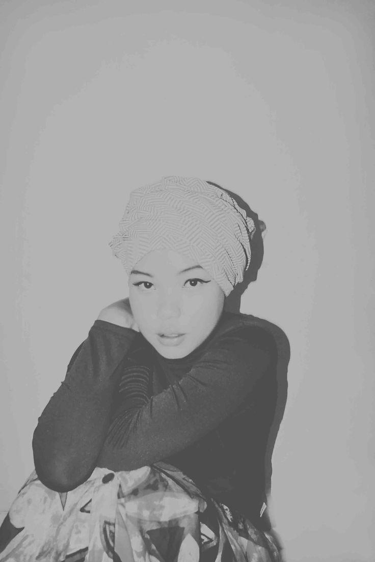 #hijab #monocrome #turban #fashion #vintage #oldies #old #outfit