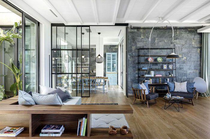Elegant and Sunny Y House by Ofist Interior Decorating - innenarchitektur industriellen stil karakoy loft