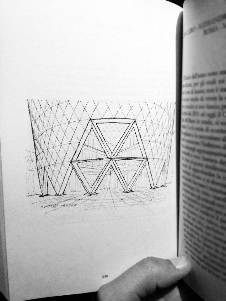 """""""Se non fossi un ottimista, sarebbe per me impossibile essere un architetto"""" - Norman Foster  #larchitettononserve #travel #sketch #archicture #london #foster #30StMaryAxe #swissrebuilding"""