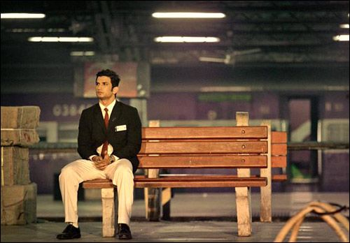 Sushant Singh Rajput's new still as a TC in MS Dhoni – The Untold Story