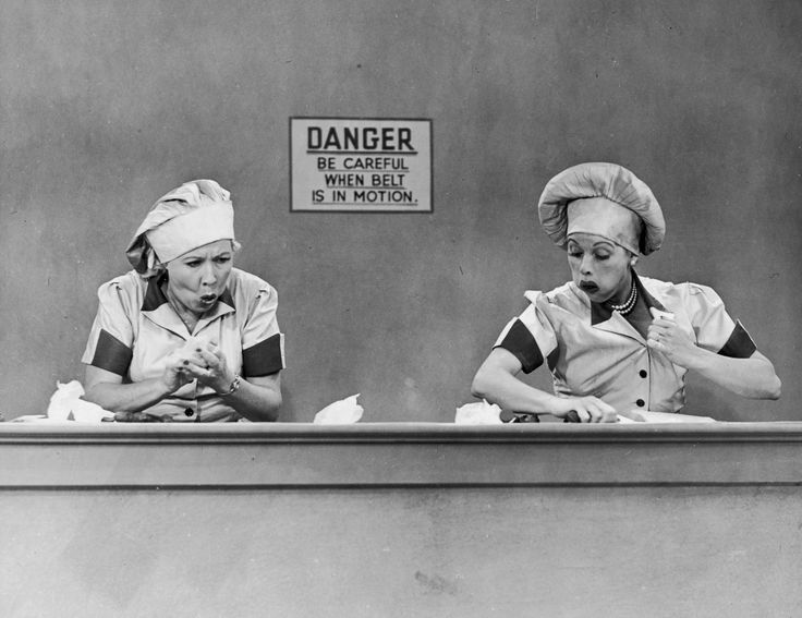 I Love Lucy. My all time favorite episode!!!: Chocolate Factory, Lucil Ball, Ethel, Chocolates Factories, Lucille Ball, Funnies, Favorit Episode, Things, I Love Lucy