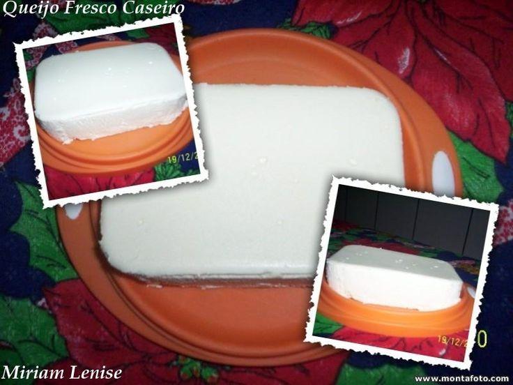 Aprenda a preparar a receita de Queijo fresco caseiro facílimo