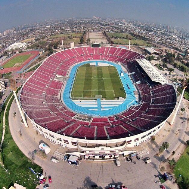 Vista estadio nacional