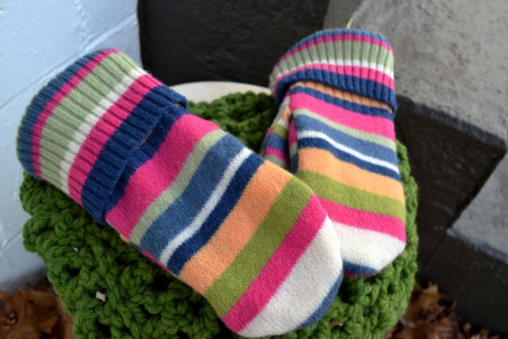 how to make mittens out of wool sweaters