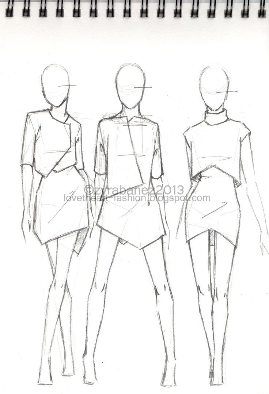 LOVEtHEART - Fashion Illustration: THE SKETCHBOOK