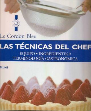 Las tecnicas del chef