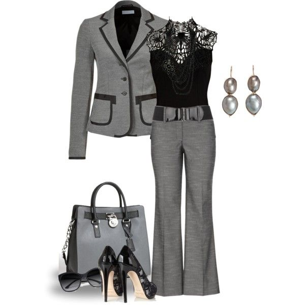 """Elegant Work Outfit!"" by sherri-2locos on Polyvore"