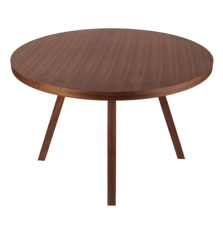 ORIGINAL Sean Dix Forte Round Timber Dining Table - Matt Blatt