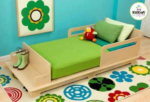 Modern Toddler Bed   Modern Toddler Bed Our Modern Toddler Cot has a simple, modern look and helps make the transition from a crib to a regular bed as painless as possible for the young ones in your life.  http://www.babystoreshop.com/modern-toddler-bed-2/