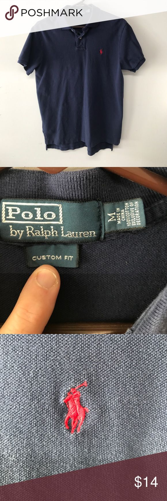 Preowned Polo by Ralph Lauren polo shirt Preowned Polo by Ralph Lauren polo shirt. Size Medium in very good condition. Made in China of 100% cotton. Smoke free home. Submit all offers. C7 Polo by Ralph Lauren Shirts Polos