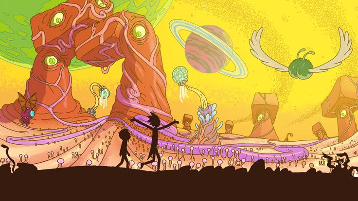 Jon Vermilyea and Jason Boesch's fantastical landscape