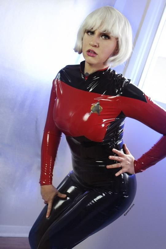 Lack PVC Latex HQ on | sexy women 1 | Latex cosplay, Star ...