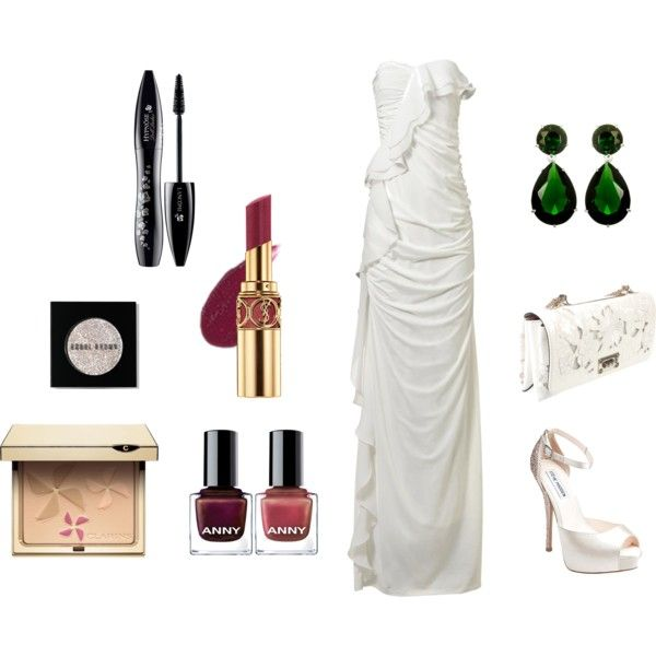 Red Carpet Ready : Resplendent in White, created by corallista on Polyvore