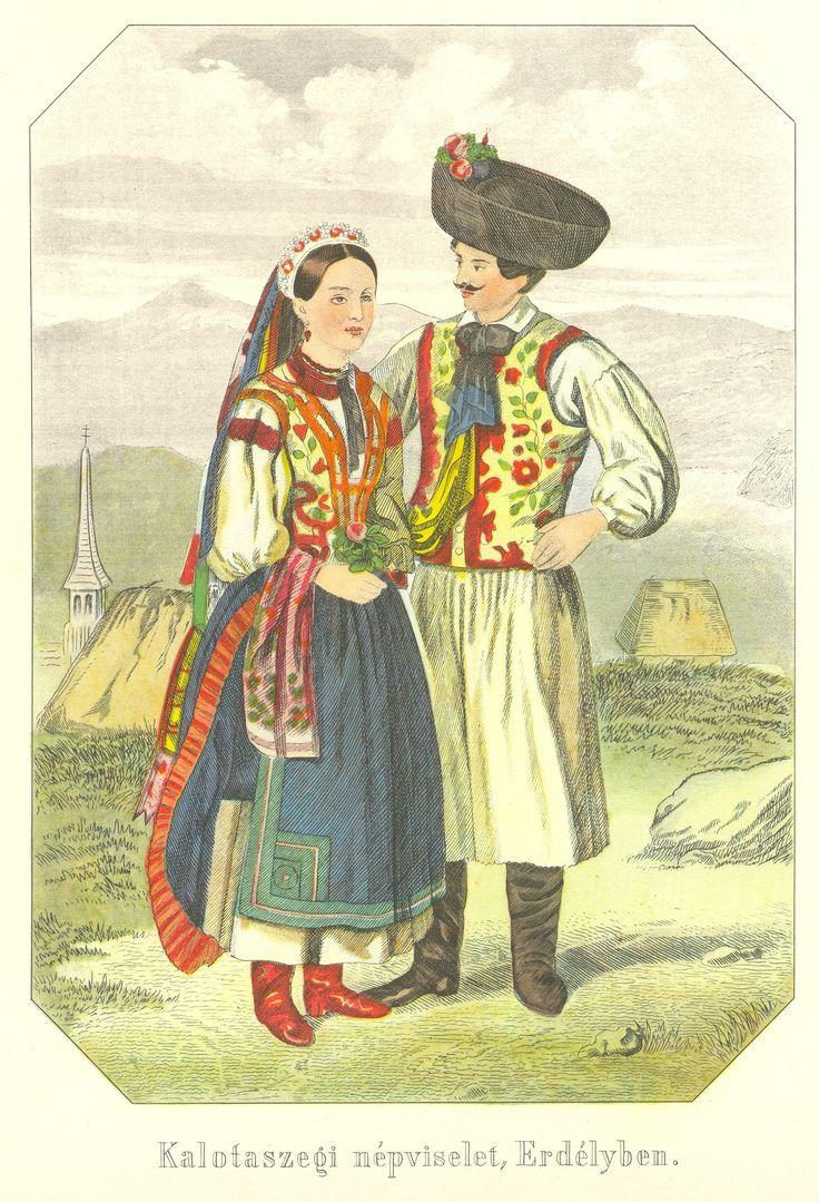 Hungrian folk costume from Transylvania, 19th c.  Google Image Result for http://upload.wikimedia.org/wikipedia/commons/1/13/Klimkovics_Ferenc_Kalotaszegi_n%25C3%25A9pviselet_Erd%25C3%25A9lyben.jpg