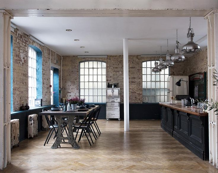 The Harrison S oven from Harrison Ovens took pride of place in the kitchen of the Warehouse Home Apartment. Styling by Lucy Gough, Photography by David Cleveland.