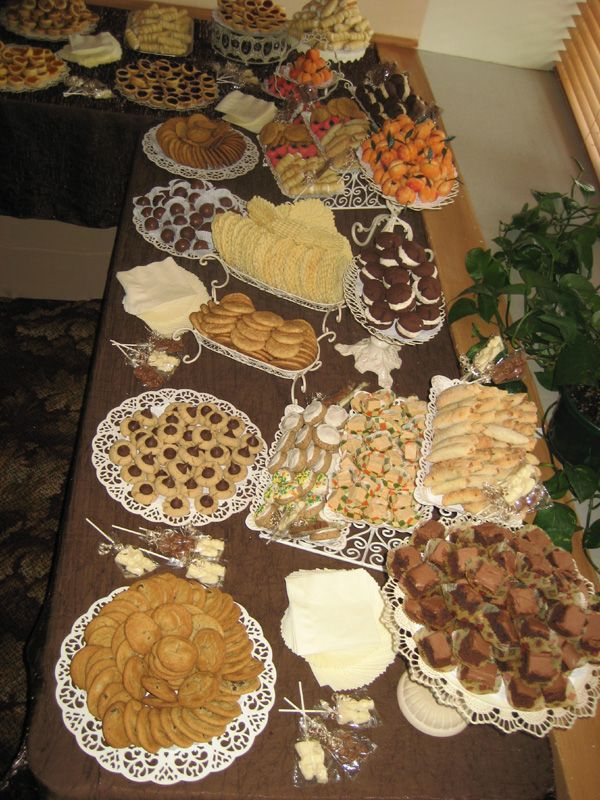 The Cookie Table Is A Tradition Often Observed At Weddings In Pittsburgh Pennsylvania