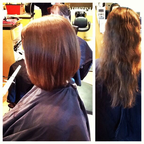 What a awesome summer transformation done by our stylist Amanda