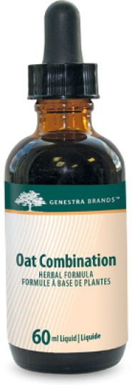 Oat Combination by Genestra contains a combination of synergistic herbs, in a convenient liquid format, traditionally used in Herbal Medicine to help relieve nervousness and as a sleep aid in cases of restlessness or insomnia due to mental stress. Traditionally used in Herbal Medicine to help relieve the pain associated with menstruation.