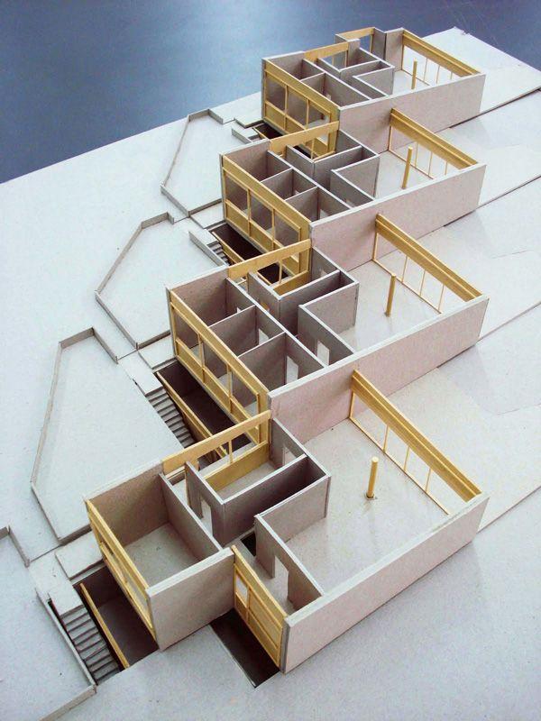 Soholm terraced houses, Klampenborg, Copenhagen, Denmark.  Arne Jacobsen