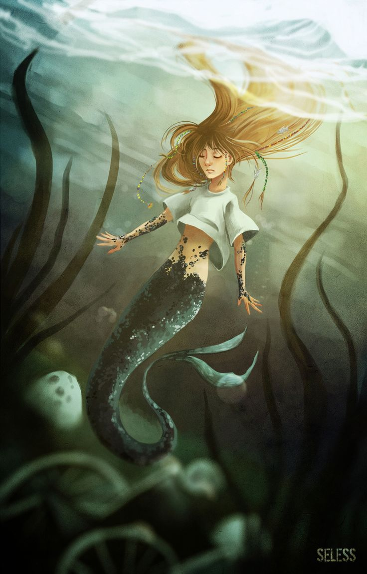 Mermaid by Seless.deviantart.com on @deviantART