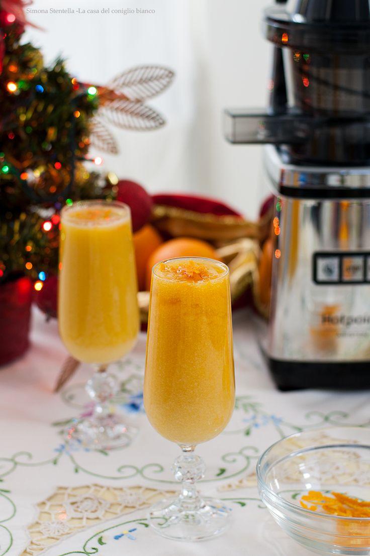 Sorbetto all'arancia e Grand Marnier | Orange sorbet and Grand Marnier | La casa del coniglio bianco