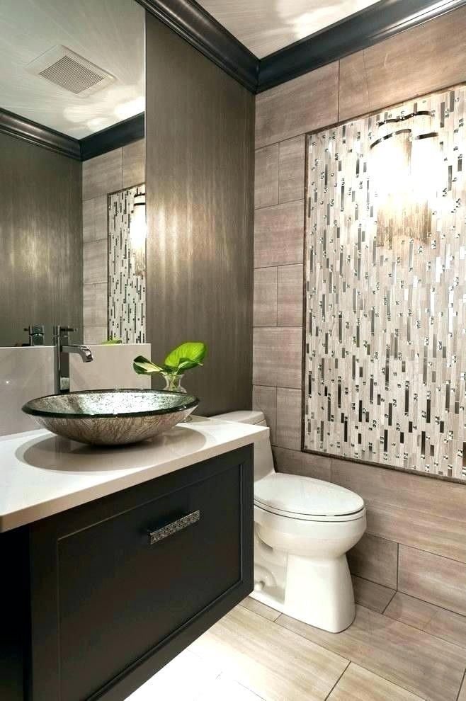 Color Palette For Small Bathroom In 2020 Modern Powder Rooms
