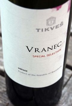 Tikves Winery Vranec Special Selection, € 11,95.