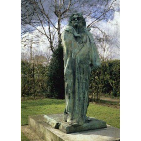 Balzac Auguste Rodin (1840-1917French) Musee Rodin Paris Canvas Art - Auguste Rodin (24 x 36)