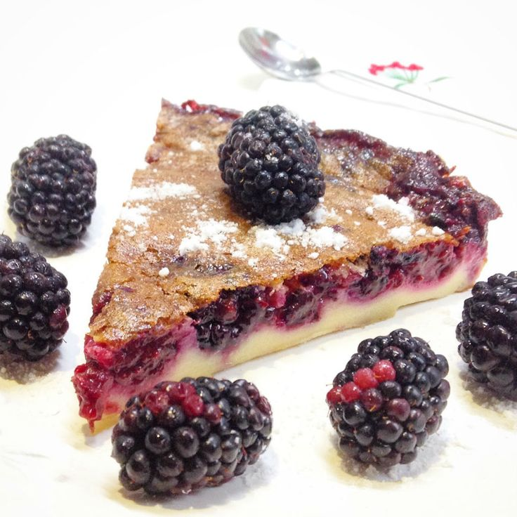 Böğürtlenli Klafuti, Clafoutis w/ Blueberry