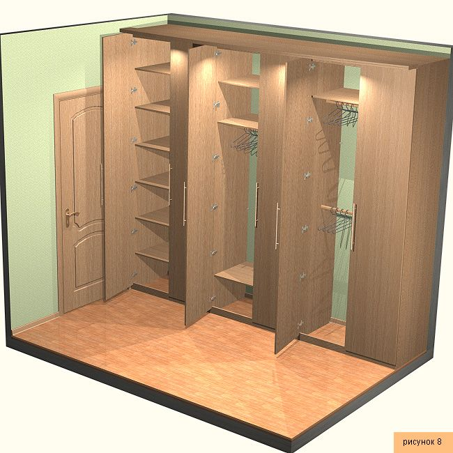 How To Make Built In Wardrobes With Sliding Doors: Gabinete Bisagra De Puerta
