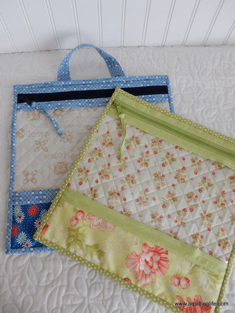 Christmas Sewing...Project Bags
