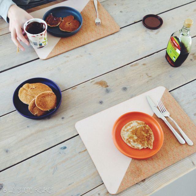 Recept: Havermout-Banaan Pannenkoeken - De Groene Keuken