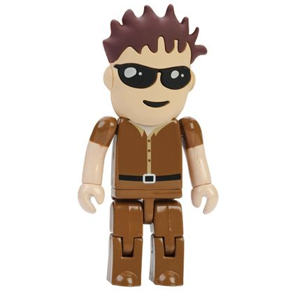 Cool dude with brown hair USB